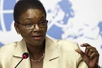 Šéfka humanitárních operací OSN Valerie Amosová.