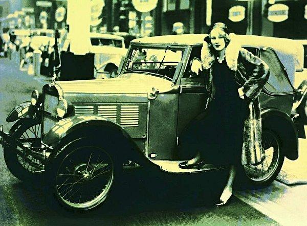 DIXI 3/15 PS zroku 1928.Budoucí první BMW.