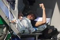 Neymar ještě navštívil trénink Brazílie