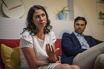 Šéf firmy Avast Ondřej Vlček a jeho žena Katarína poskytli 12. července rozhovor Deníku v Praze.
