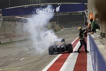 Daniel Ricciardo po Velké ceně Bahrajnu