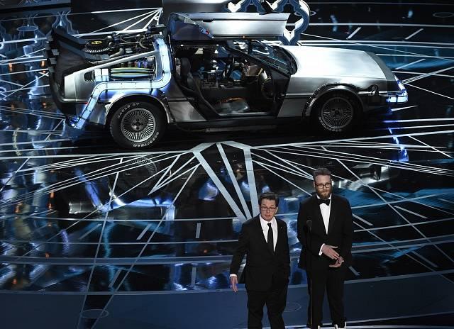 Seth Rogen a Michael J. Fox