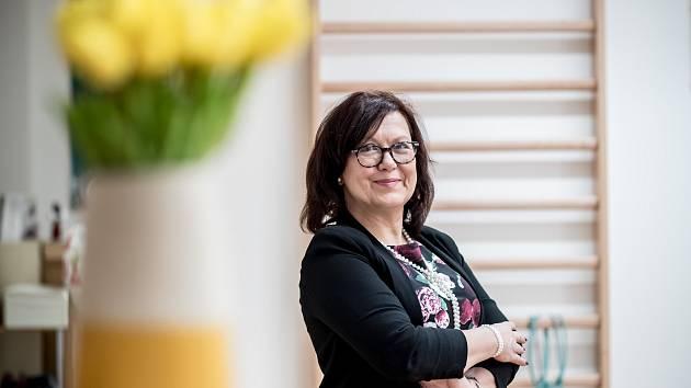 Lékařka Kateřina Cajthamlová.