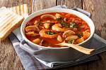 Italská mořská polévka