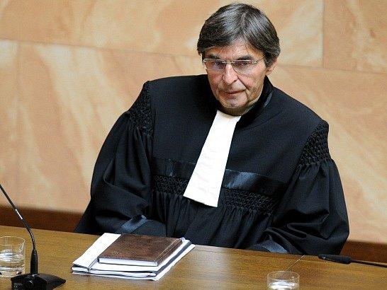 Končící ústavní soudce Vladimír Kůrka, jenž se má po Novém roce stát šéfem občanskoprávního a obchodního kolegia NS.