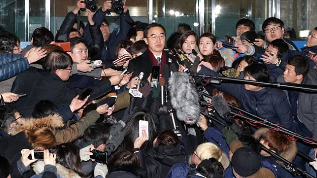Jihokorejský ministr pro sjednocení ostrova Cho Myoung-gyon