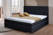 Zvýšená manželská postel s úložným prostorem INGRIDA