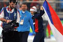 Česká rychlobruslařka Martina Sáblíková získala svoji druhou olympijskou medaili.