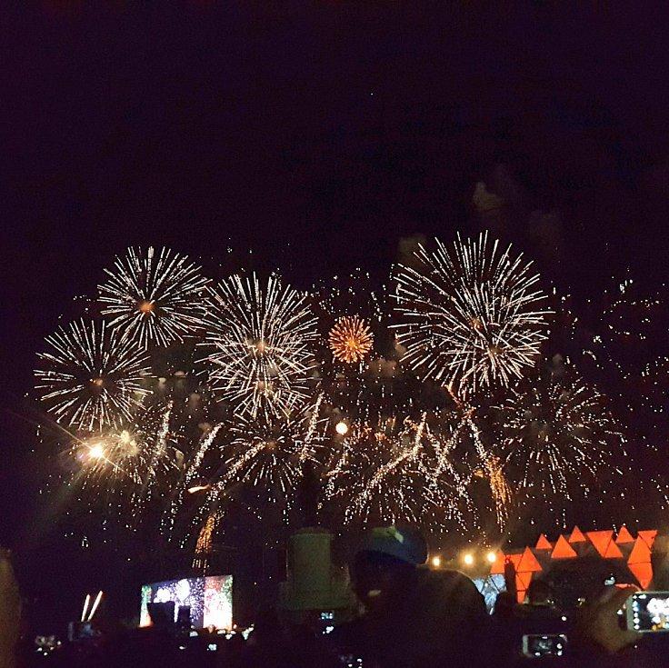 Novoroční oslavy v Lisabonu