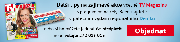 Páteční Deník sTV magazínem.
