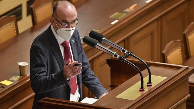 Ministr zdravotnictví Jan Blatný (za ANO)