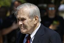 Bývalý americký ministr obrany Donald Rumsfeld