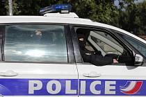 Vůz francouzské policie - ilustrační foto