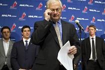 Lídr NHLPA Donald Fehr opět s představiteli NHL společnou řeč nenašel.