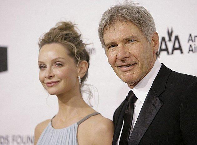 Calista Flockhartová a Harrison Ford