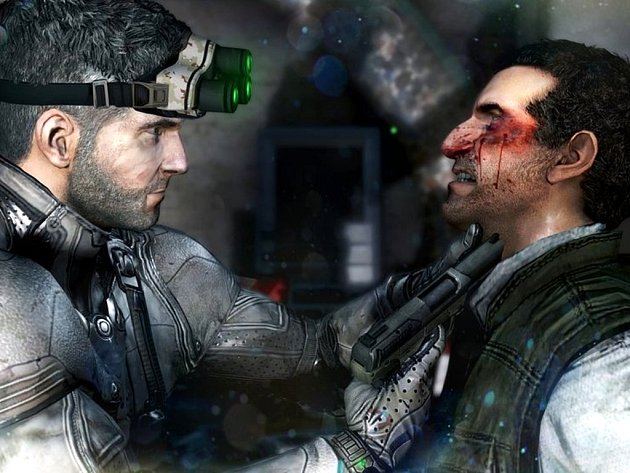Počítačová hra Splinter Cell: Blacklist.