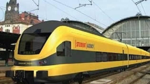 Projekt Student Agency, vlaková souprava HighJet.