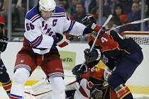 Kapitán New Yorku Rangers Jaromír Jágr znovu nebodoval.