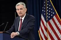 Guvernér centrální banky Jerome Powell