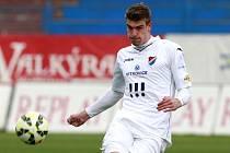 Martin Kouřil v dresu Baníku Ostrava.
