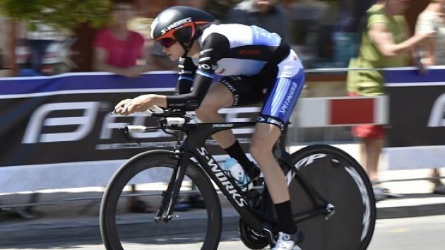 Martina Sáblíková v cyklistické časovce