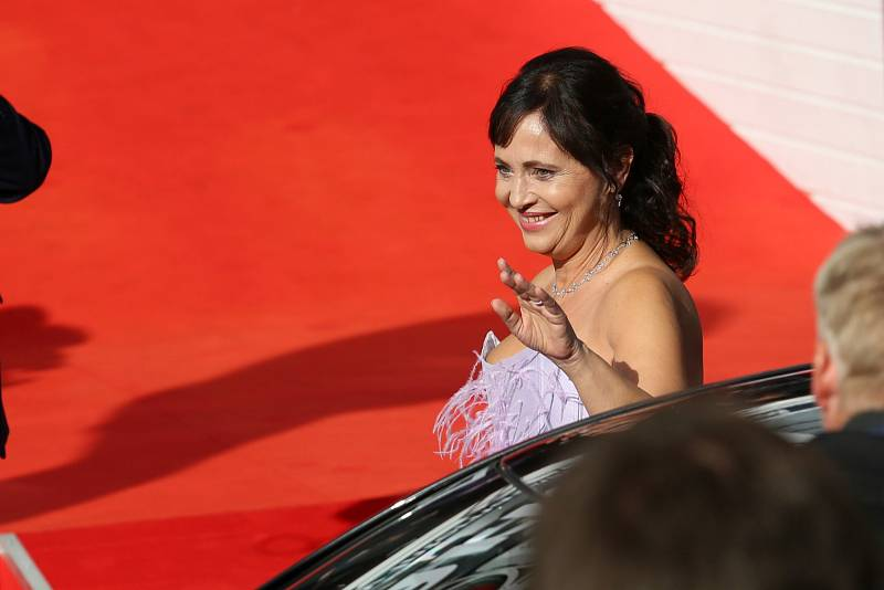 Přední česká herečka Alena Mihulová letos nechyběla na Mezinárodním filmovém festivalu v Karlových Varech