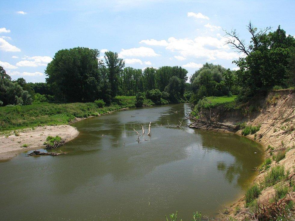 Oblast Osypané břehy, kde se natáčel film Cesta do pravěku