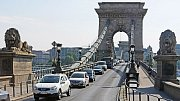 Řetězový most je symbol Budapešti.