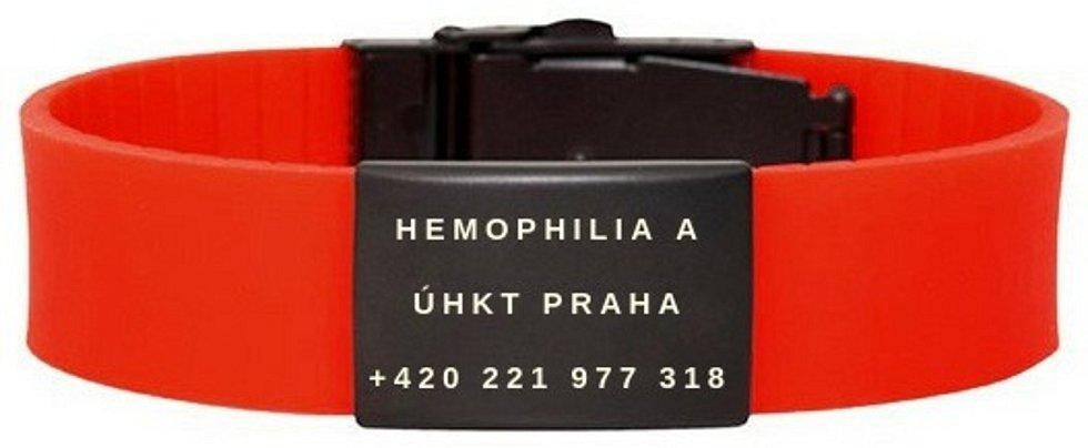 Náramky pro hemofiliky se v praxi opakovaně osvědčují