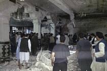 Mešita v afghánském městě Herát po útoku