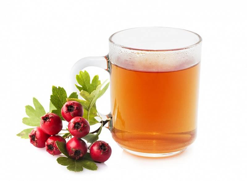 Čaj z hlohových květů pomáhá při celkovéúnavě, nedostatkuenergie, závratích, dušnosti, pocitech strachu a nervozity