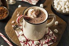 peprmintová čokoláda