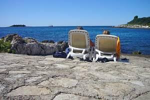 Turisté v Chorvatsku