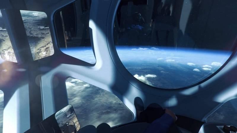 Vizualizace plánovaných letů společnosti World View