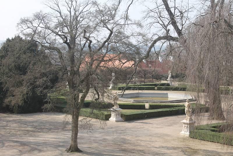 Zámecký park ve Slavkově