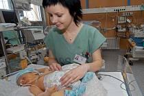 Novorozenecké oddělení - ilustrační foto