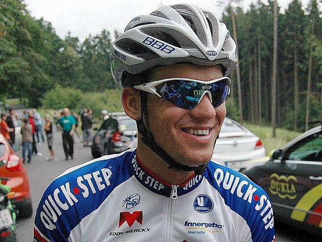 Zdeněk Štybar z týmu Quick-Step.