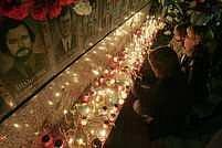 Pietní akt v Kyjevě. Ani 21 let poté lidé nezapomínají