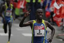 Keňan Patrick Makau vyhrál Rotterdamský maraton.