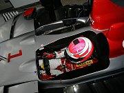 Lola Aston Martin Tomáš Enge, Jan Charouz a Stefan Mücke při středečním tréninku v Le Mans.