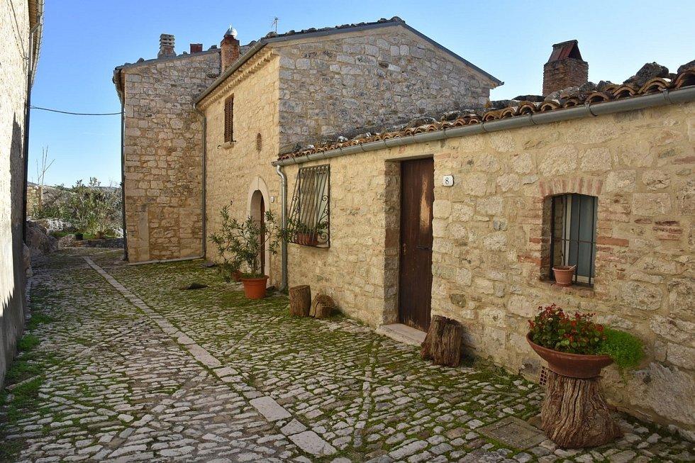 Italské městečko Castropignano