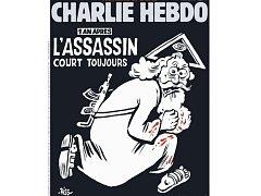 Titulní strana speciálního čísla časopisu Charlie Hebdo.