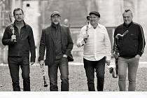 Clarinet Factory - Zleva Luděk Boura, Vojtěch Nýdl Jindřich Pavliš a Petr Valášek
