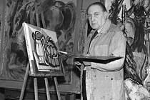 Emil Filla, český malíř a grafik (1882-1953).