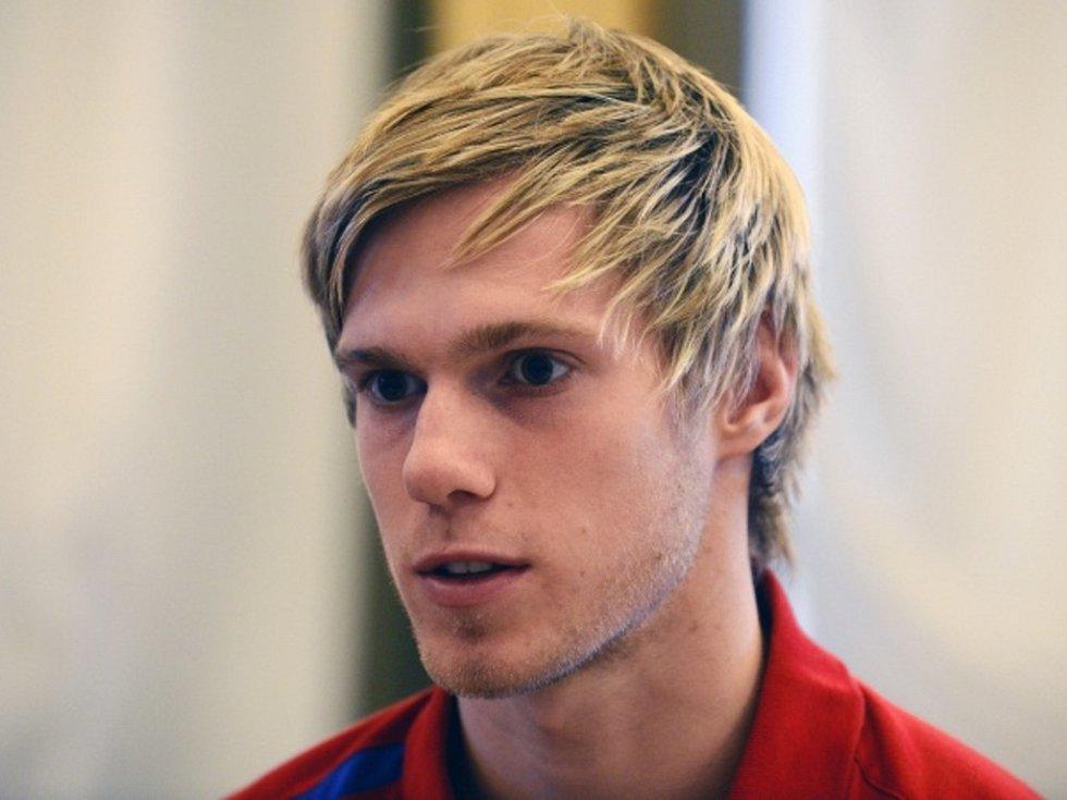 Fotbalový reprezentant české jednadvacítky Tomáš Kalas.