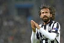 Andrea Pirlo z Juventusu.