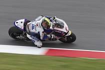 Karel Abraham v tréninku na GP Itálie.