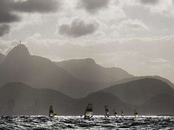 Olympijská regata v Riu.