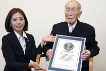 Nejstarší člověk na světě je Japonec Sakari Momoi.