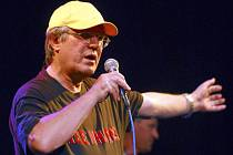 Výtvarník, zpěvák, skladatel a textař Jan Vyčítal na snímku z  22. června 2006